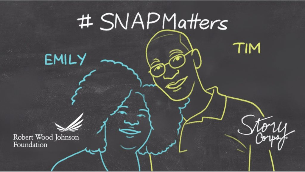 RWJF Graphic showing the importance of the SNAP programs