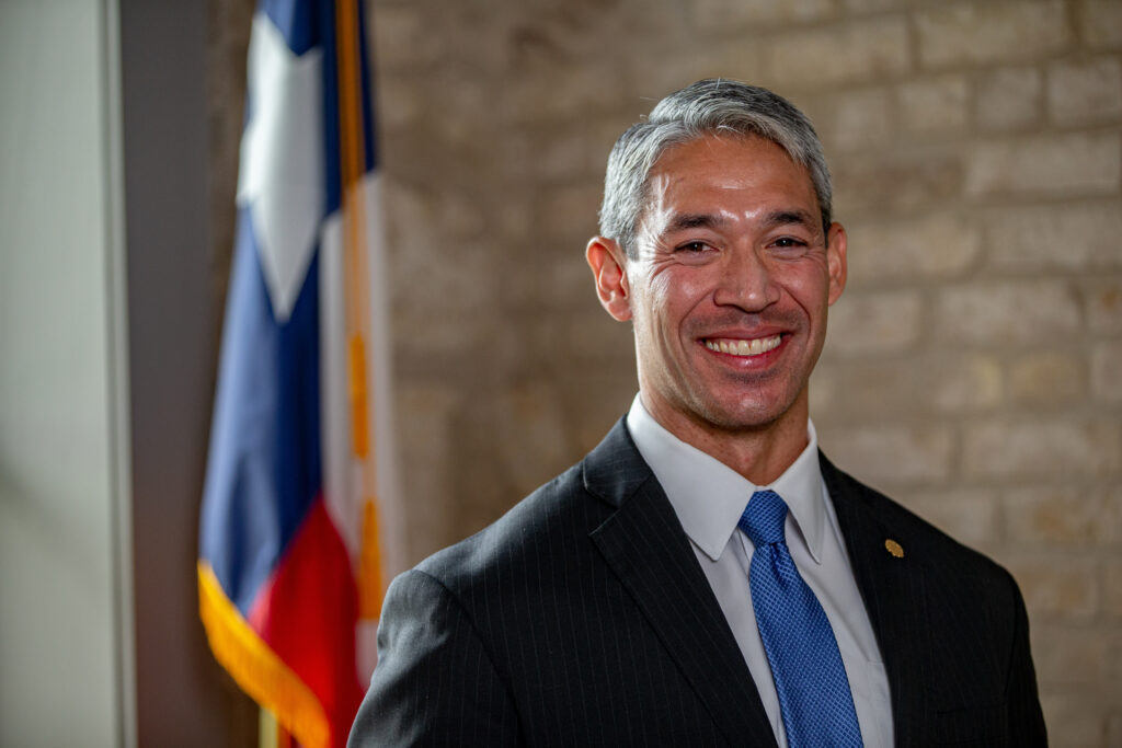 Mayor Ron Nirenberg of San Antonio, Texas.