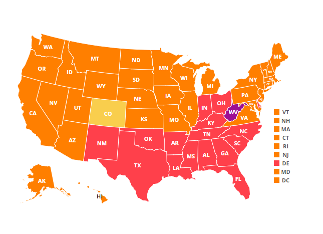 adult diabetes rates by state in 2018